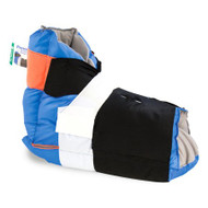 Heel Protector Boot Prevalon One Size Fits Most Blue and Gray 7300 Each/1