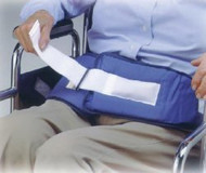 Chair Waist Belt Restraint Resident-Release Soft-Belt One Size Fits Most Hook and Loop 1-Strap 301255 Each/1