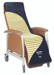 Geri-Chair / Recliner Cushion Geo-Wave 18 Inch Width Foam WAVE-04 Case/4 - 44044309