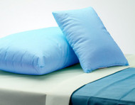 Bed Pillow Comfort Care Firm 21 X 27 Inch Blue Reusable 51123 Case/12
