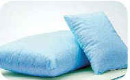 Bed Pillow Comfort Care Firm 13 X 17 Inch Blue Reusable 51117 Case/24