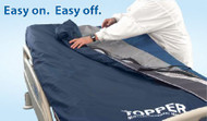 Mattress Coverlet The Topper 80 X 42 Inch Bacteriostatic / Vapor Permeable Fabric For The Topper Microenvironment Manager System MEM8442 CLT-MEM8442 Each/1