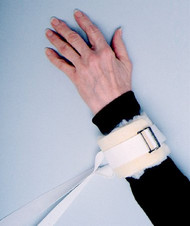Ankle / Wrist Restraint Skil-Care One Size Fits Most Non-Slip Buckle 1-Strap 306010 Pair/2
