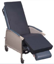 Chair Overlay Geri-Gel 70 L X 27 W X 1.75 H Inch 6200-NS-2770 Each/1