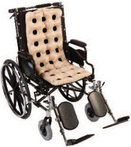 Seat Cushion Waffle Multi-Care Pad 15 X 36 X 2 Inch Air Cells 201WPP Case/6