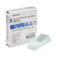 Microscope Slide McKesson 25 X 75 X 1 mm Frosted End 70-105PMCK Case/1440