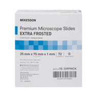 Microscope Slide McKesson 25 X 75 X 1 mm Extra-Frosted 70-109PMCK Case/1440