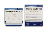 Rapid Diagnostic Test Kit Hemoccult ICT Immunochemical Colorectal Cancer Screen Fecal Occult Blood Test (FIT or iFOBT) Stool Sample CLIA Waived 100 Cards 395065A Box/100