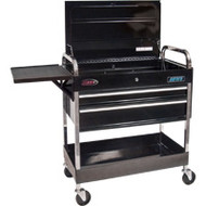 "TEP502 Utility Tool Carts (2 drawers) 46""Wx16.5""Dx36""H"