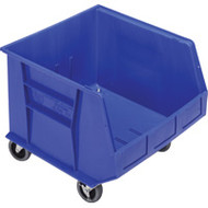 "CD669 HD MOBILE Plastic Bins (BLUE) 16.5""Wx18""Dx14""H"