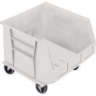 "CD673 HD MOBILE Plastic Bins (IVORY) 16.5""Wx18""Dx14""H"