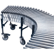 "MN874 Flexible/Expandable Roller Conveyors 30""Wx24'L"