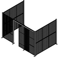 "KD085 Enclosures no roof 12'8""Wx8'4""Dx8'3""H"