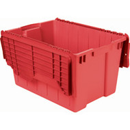 "CD510 Plastic Containers (RED flip top) 21.5""Lx15""Wx12.5""H"