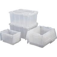 """CC130 Containers (0.7 cu ft) OD: 19.7""""L x 11.8""""W x 7.3""""H"""