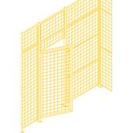 KH933 Partition DoorsHD Swing 3'Wx7'H