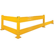 "SGR-KH827 Safety Guardrails 12""Hx96""L"