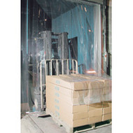 "KF002 Low Temp Doors 12"" strips 10'Wx10'H"