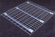 """(f) WD3-4446PC Wire Decks (powder) 44""""Dx46""""W"""