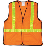 SEF098 5-Point Tear-Away Traffic Safety Vests (Large)