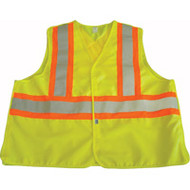 SAR638 Safety Vests With Contrasting Stripe (X-Large)