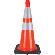 "SEF028 Traffic Cones w/Two Collars (28"")"