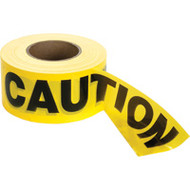 "SED027 Hanson Tape (2-mil/300'L) ""CAUTION"""