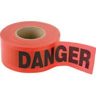 """SED029 Hanson Tape (2-mil/300'L) """"DANGER"""""""