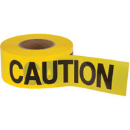 "SEK400 Zenith Tape (HD/2-mil/1000'L) ""CAUTION"""