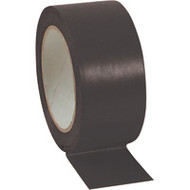 "SAL694 Aisle Marking Tape (6-mil/BLACK/3""Wx108'L)"