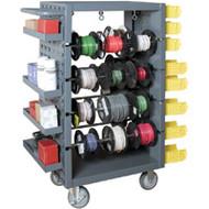 MN163 Reel Racks MobileRemovable rods