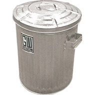 NG312 Galvanized Containers Heavy duty16.5-gal