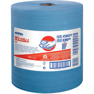 JA181 HD Shop WipersBlue475 sheets/roll