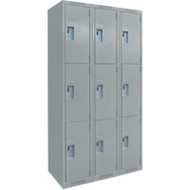 FJ161 Steel Lockers 3 tiers3 banks