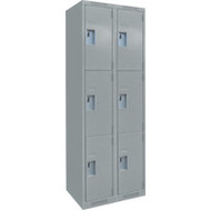 FJ160 Steel Lockers 3 tiers2 banks