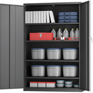 "FJ860 Storage Cabinets HI-BOY/Deep 48""Wx24""Dx72""H"