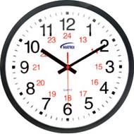 HT072 Wall Clocks 12/24 hour