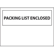 PB428 Packing List Envelopes Backloading