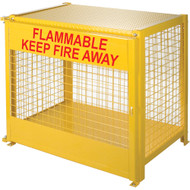 "SAF836 LPG 6-cyl Cages 44""Wx30""Dx37""H"