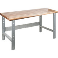 "FF657 Workbenches (w/laminated wood tops) 36""Wx60""Lx34""H"