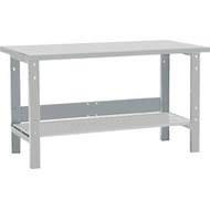 "FF700 Workbenches (w/steel/wood-fill tops) 24""Wx60""Lx34""H"