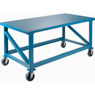 "FH465 EXHD Workbenches (Mobile) 72""Wx30""Dx34""H"