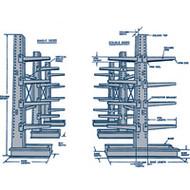 "RL738 MD Cantilever DS (STARTER Unit) 72""Wx42""Dx84""H"