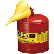 SEA204 Safety Cans (RED) 7.5 liters/2 US gal
