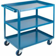 "MB461 HD Shelf Carts 3 shelves 24""Wx48""Dx36""H"