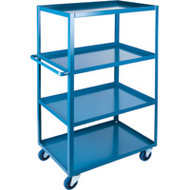 "MB470 HD Shelf Carts 4 shelves 24""Wx36""Dx61""H"
