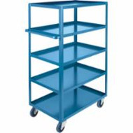 "MB478 HD Shelf Carts 5 shelves 24""Wx48""Dx61""H"