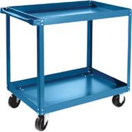 """MB482 Shelf Carts 2 shelves 18""""Wx30""""Dx36""""H"""