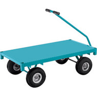 "MD187 Ergonomic Wagons (steel deck) 24""Wx48""L"