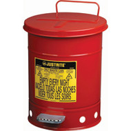 SR357 Oily Waste Cans (RED) 22 liters/6 US GAL